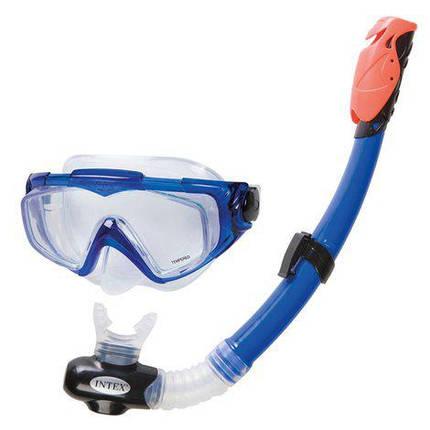Набір для плавання маска з трубкою Intex 55962, фото 2