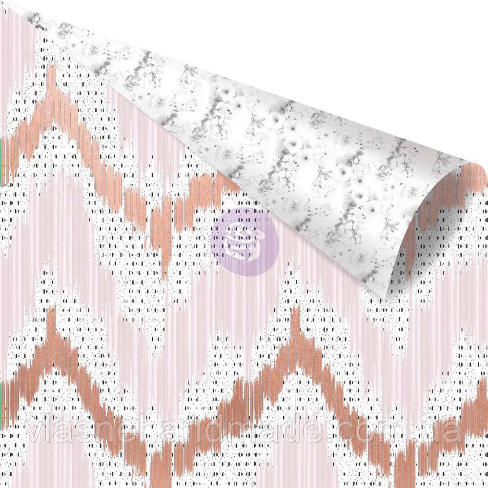 Папір - Vivid Patterns - Cherry Blossom - Prima Marketing - WRose Foil