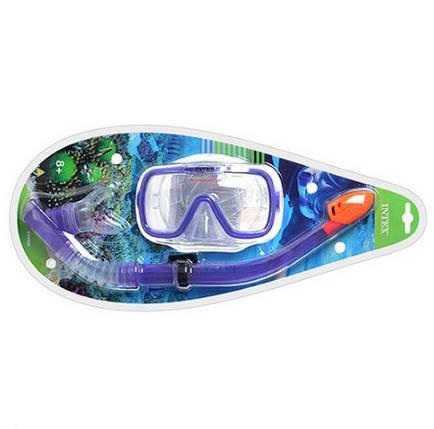 Набор для плавания маска с трубкой Intex 55950, фото 2