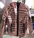 Куртка женская демисезонная Размер 50  В наличии цвет пудра, фото 3