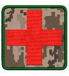 Нашивка Червоний хрест