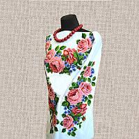 Женская сорочка бисером (нитками) ВМ-СЖ-50. Заготовка под вышивку.