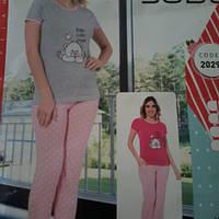 Женская пижама футболка и штани e7544e11f964d