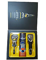"Набор Gillette ""ProShield"" (станок Flaxball (1)+ гель 170мл+ футляр)"