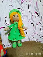 """Кукла """"Настенька"""" в платьеце, высота 40-45 см. Ручная работа"""