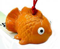 """Колокольчик """"Рыбка"""" (оранжевый)"""