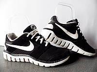 Кроссовки беговые Nike Flex Raid100% ОРИГИНАЛ р-р 38 (24см) (Б/У, СТОК) женские для спорта найк asics чёрные