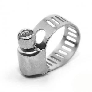 Хомут Intertool стальной оцинкованный 8 мм D 6-16 мм (арт. TC-0006)