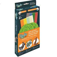 Набор аксессуаров для 3D-ручки 3Doodler Start - ДИКИЕ ЖИВОТНЫЕ (48 стержней, 2 шаблона)