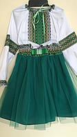 Український костюм блуза та спідничка для дівчинки від 1 до 7 років