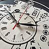 Настенные часы из натурального дерева «Тысячелетний Сокол» (40 см) [Натуральное дерево, Открытые], фото 3