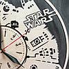 Настенные часы из натурального дерева «Тысячелетний Сокол» (40 см) [Натуральное дерево, Открытые], фото 4
