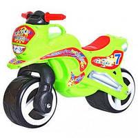 Детский мотоцикл каталка Kinderway 11-006 , зеленый