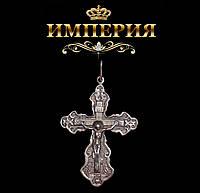 Крест православный мужской серебряный 8 г