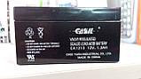 Аккумулятор свинцово-кислотный CASIL CA1213, 12V / 1.3A, фото 2