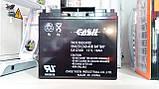 Акумулятор свинцево-кислотний CASІL CA12180, 12V / 18.0 A, фото 2