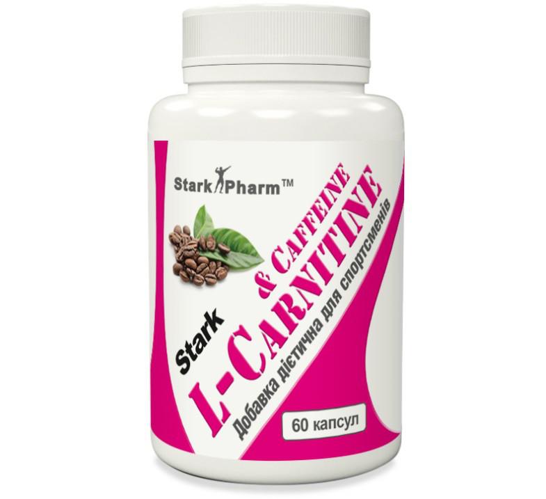(Пробник) Stark Pharm - L-Carnitine & Caffeine Complex 560 мг (1 капсула)