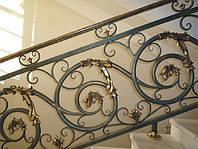 Кованые изделия, ограждения лестниц, кованые ворота