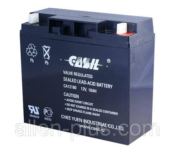 Акумулятор свинцево-кислотний CASІL CA12180, 12V / 18.0 A