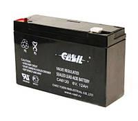Аккумулятор свинцово-кислотный CASIL CA6120, 6V / 12.0A