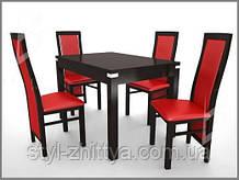 Столи і 4 стільці PRESTIGE 2121