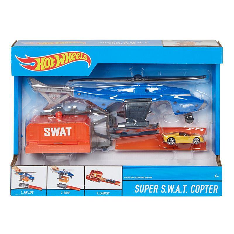 Игровой набор Hot Wheels CITY™ SUPER S.W.A.T. COPTER (FDW72)
