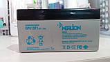 Аккумулятор свинцово-кислотный MERLION GP613F1, 6V / 1.3A, фото 2