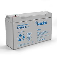 Аккумулятор свинцово-кислотный MERLION GP690F1, 6V / 9.0A