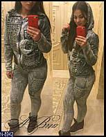 Женский костюм джинсовый