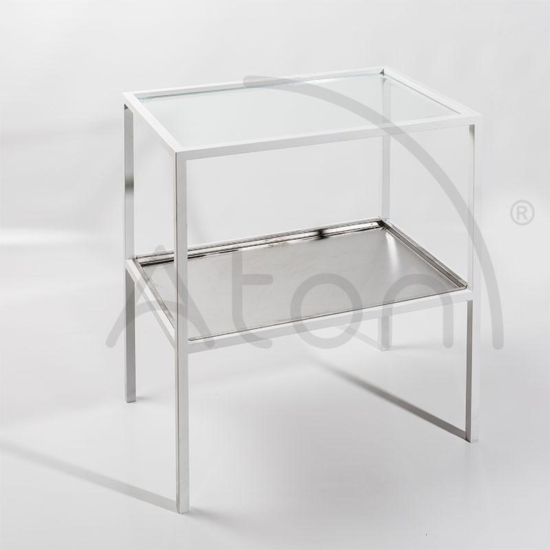 Столик инструментальный СТ-И-СН, для размещения расходных материалов, 620 х 415 х 770 мм - фото 2