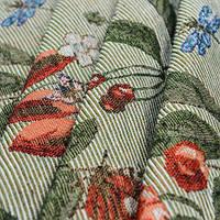 Гобелен ткань, ягоды