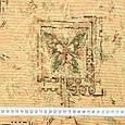 Гобелен ткань, бабочки, фото 3