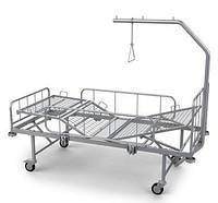 Кровать больничная функциональная КФ-4. Габаритные размеры 2230 х 1025 х 1830 мм