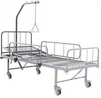 Кровать больничная функциональная КФ-2-БД. Габаритные размеры 2230х1025х1830 мм