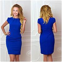 Платье, модель 716, цвет - электрик, фото 1