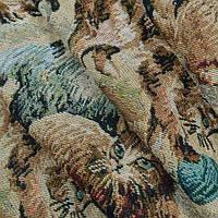Гобелен ткань, кошкин дом