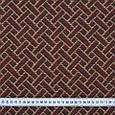 Гобелен ткань, геометрия, коричневый, фото 2