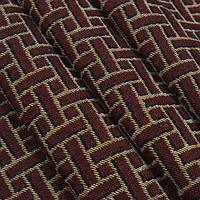 Гобелен ткань, геометрия, коричневый