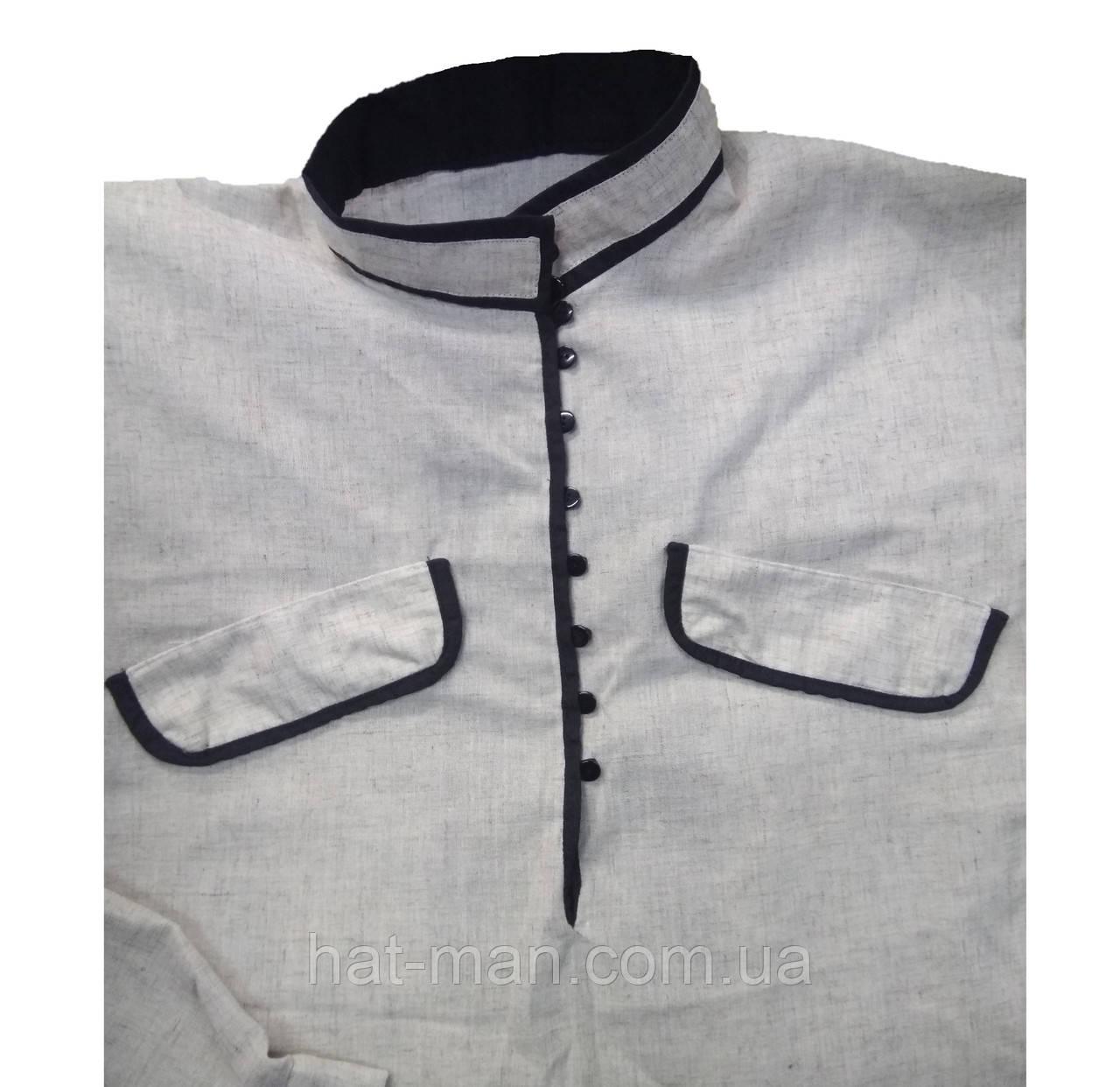 Рубашка під черкеску льняна