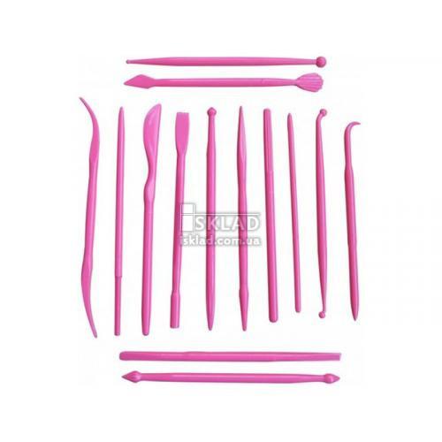Набор ножей для мастики 14шт ЕМ-8629