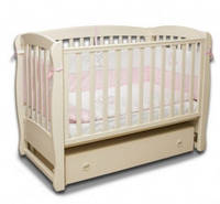 Детская кроватка Верес Соня ЛД 16, цвет слоновая кость