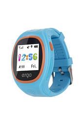 Детские часы с GPS трекером ERGO GPS Tracker Junior Color J010 Blue
