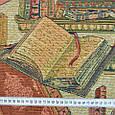 Гобелен ткань, книги, библиотека, фото 3