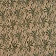 Гобелен ткань, бамбук, бежево-зелёный, фото 2