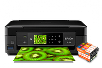 МФУ Epson Expression Premium XP-434 с картриджами Lucky Print