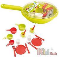 Набор посуды со сковородой Ecoiffier 3280250009733