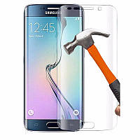 3D защитное стекло для Samsung Galaxy S7 Edge G935F (на весь экран) Прозрачный