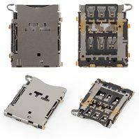 Конектор SIM-карти для мобільних телефонів Samsung A300F Galaxy A3, A300FU Galaxy A3, A300H Galaxy A3, A500F Galaxy A5, A500FU Galaxy A5, A500H Galaxy