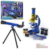 Детский набор телескоп + микроскоп No name 6903305346016