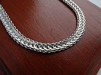 Новинка! Шикарная серебряная цепь, фото 1